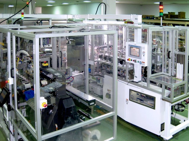 Medical device assembly and test equipment