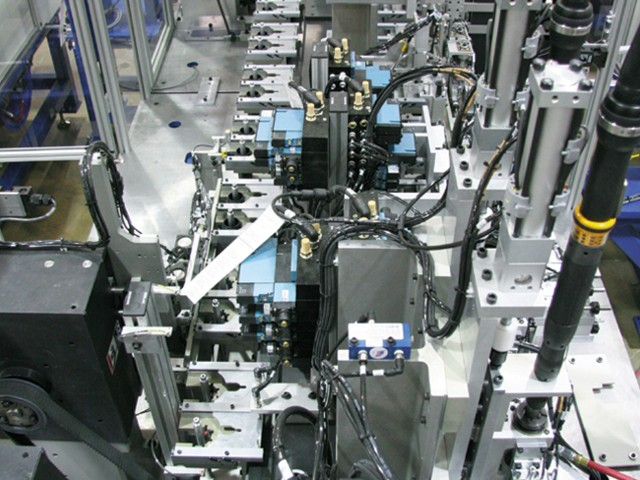 Synchronous assembly lines
