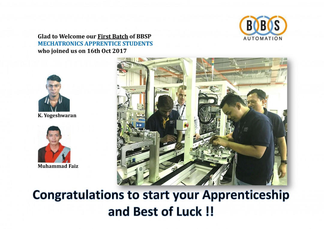 New Apprentices in Penang  Gallerie