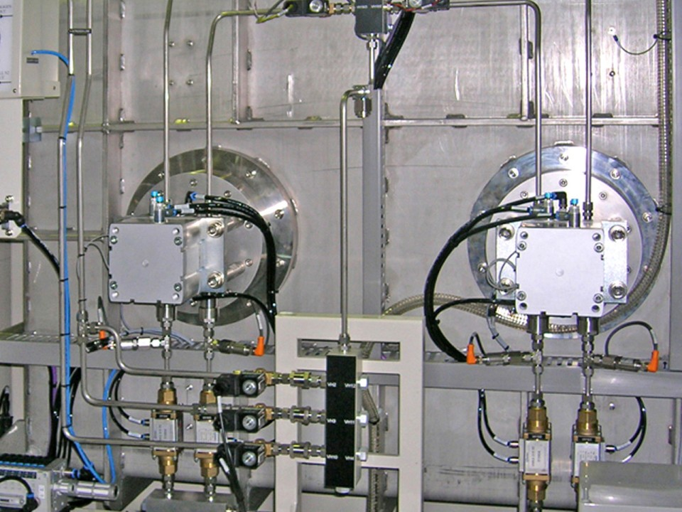 2 chambers integrated system